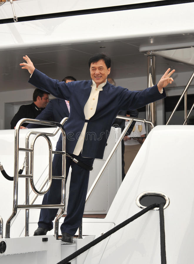 Jackie Chan image libre de droits