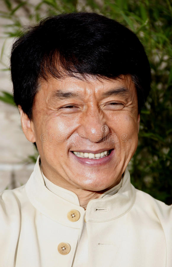 Jackie Chan. At the Los Angeles Premiere of The Karate Kid held at the Mann Village Theater in Westwood, California, United States on June 7, 2010 royalty free stock images
