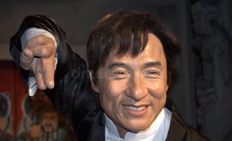 Jackie Chan, Singapur obraz stock