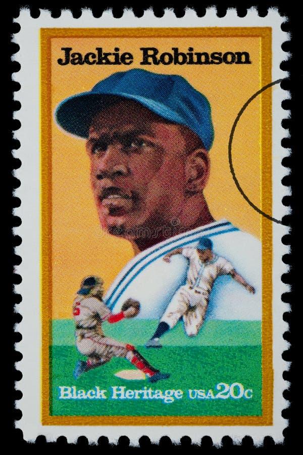 Jackie Robinson Postage Stamp fotos de archivo libres de regalías
