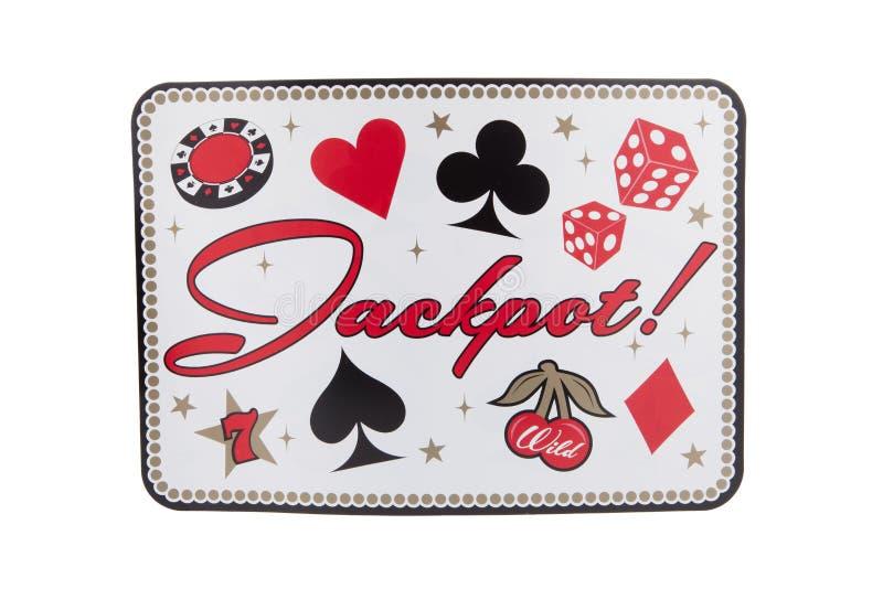 jackpot obraz royalty free