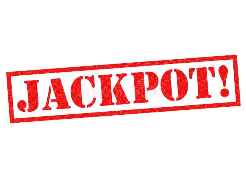 Jackpot stock abbildung