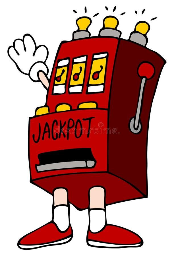Download Jackpot Slot Machine stock vector. Image of gambling - 17668217