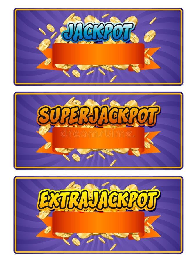 Jackpot vector illustration