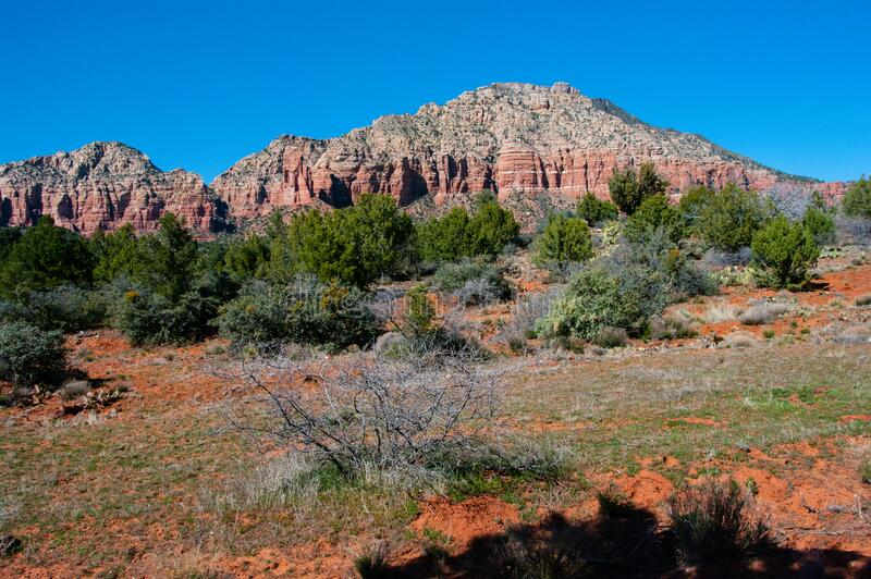 Jacks Canyon Trail No. 55 royalty free stock photo