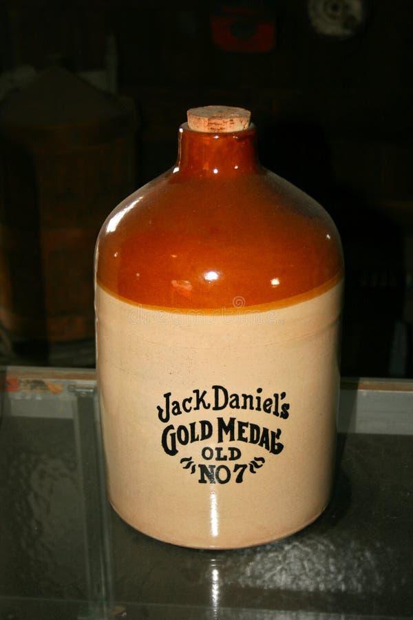 Jacks Daniels gammalt inget för guldmedalj Tillbringare 7 royaltyfria foton