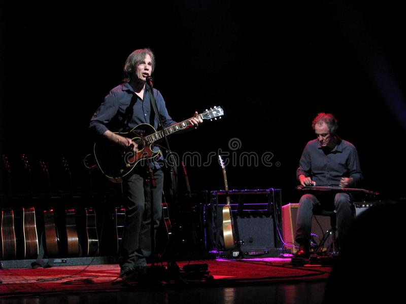 Jackson Browne in Concert. Jackson Browne is a popular American singer-songwriter and musician who has sold over 18 million albums in the United States. Coming stock images
