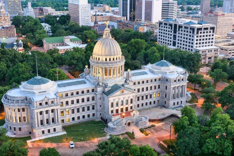 Jackson, de Mississippi, de V.S. stock foto