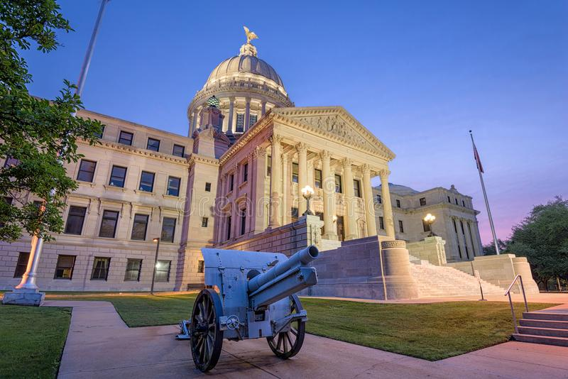 Jackson, de Mississippi, de V.S. stock afbeelding