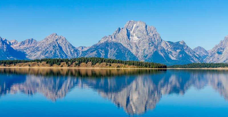 Jackson dziura Wyoming fotografia stock