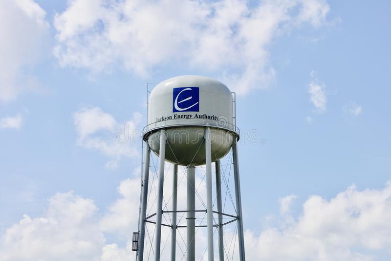 Jackson Energy Authority royalty-vrije stock fotografie