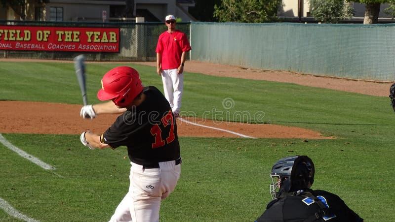 2019 Chaparral Firebird Baseball vs. Sandra Day O`Connor Eagles stock images