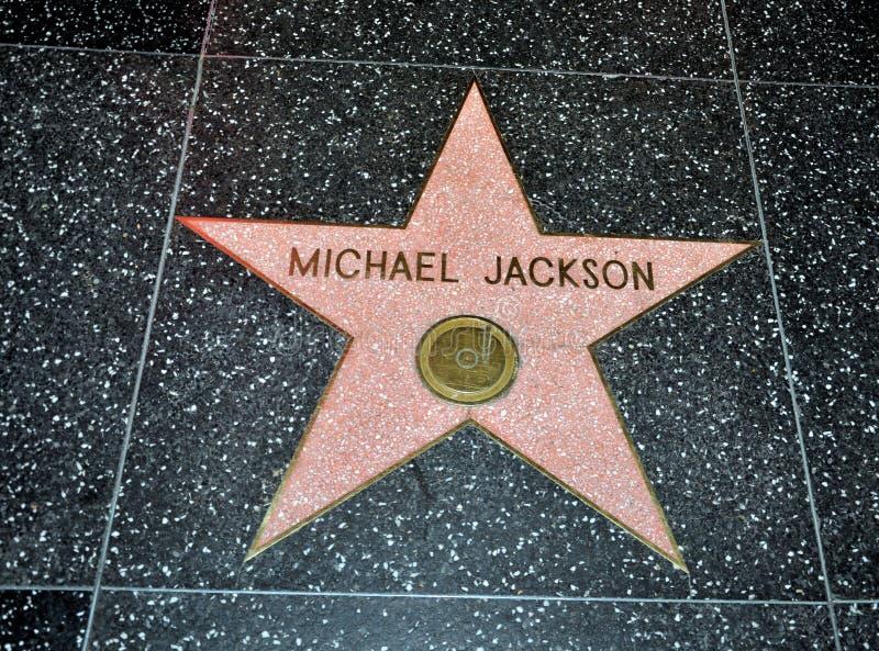 jackson gwiazda Michael zdjęcie royalty free