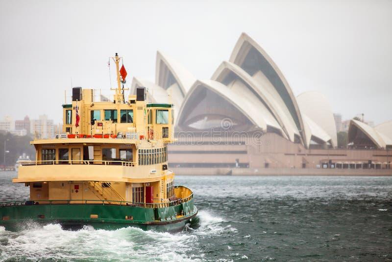 Jackson Harbour in Sydney royalty-vrije stock foto's