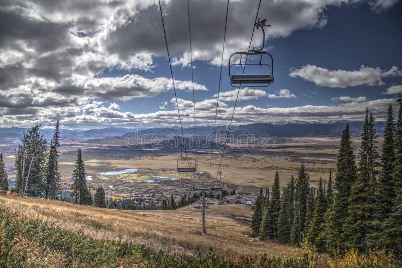 Jackson Hole Mountain immagine stock libera da diritti