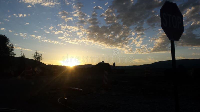 Jackson Hole Sunrise images libres de droits