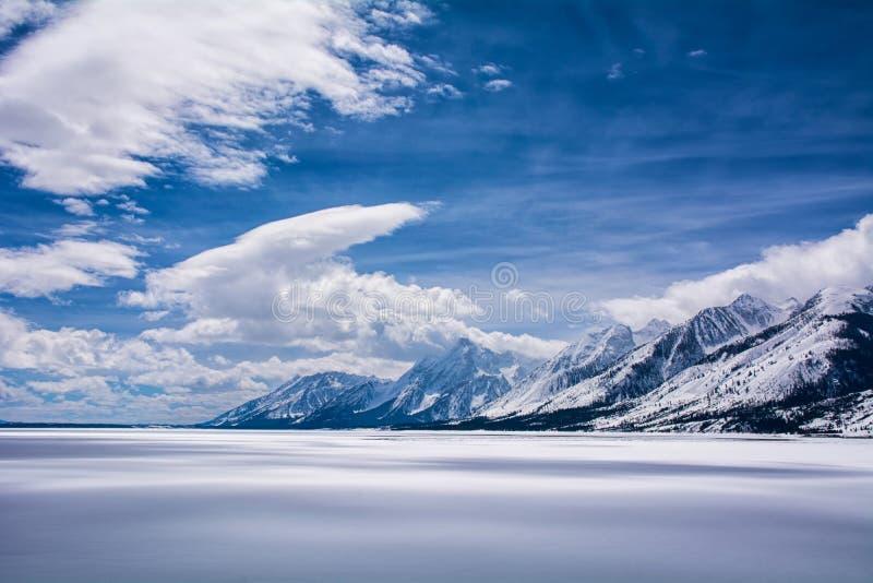jackson lake arkivfoton