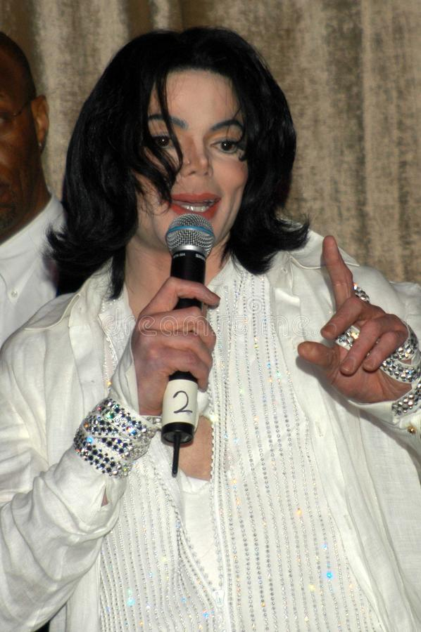 jackson Michael zdjęcie royalty free