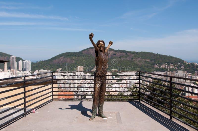 jackson pomnik Michael obraz royalty free