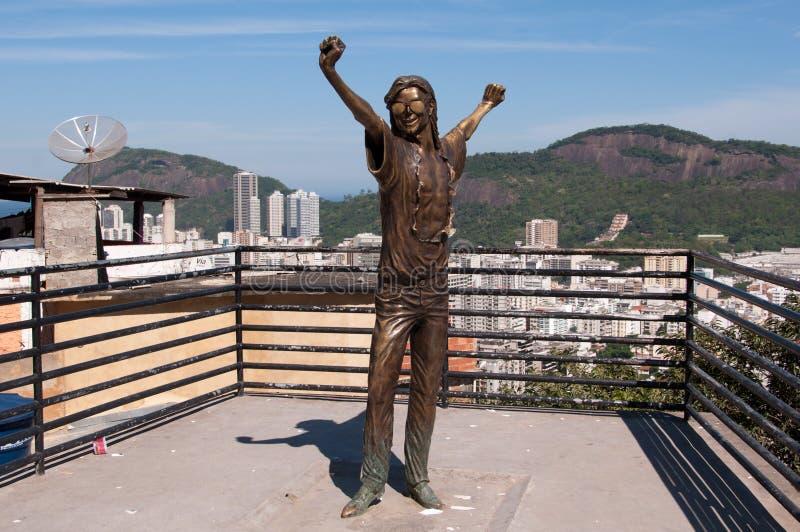 jackson pomnik Michael zdjęcie stock
