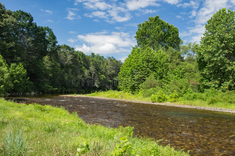 Jackson rzeka, Virginia, usa fotografia stock
