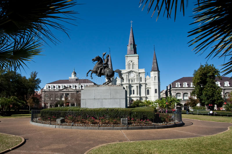 Jackson Square, New Orleans royalty free stock photo
