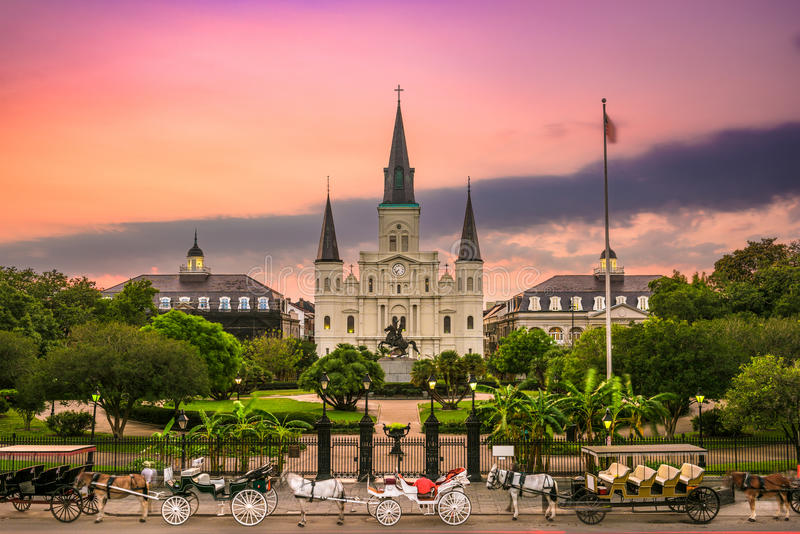 Jackson Square New Orleans royalty free stock images