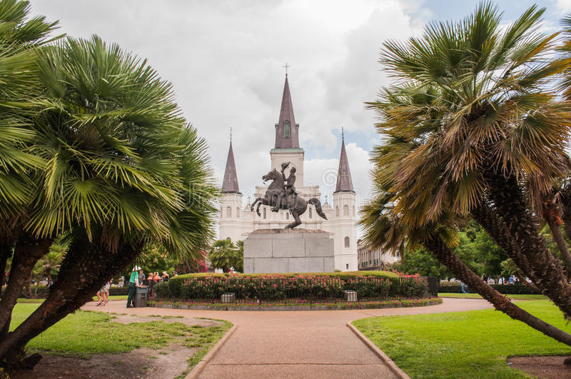 Jackson Square royalty free stock images