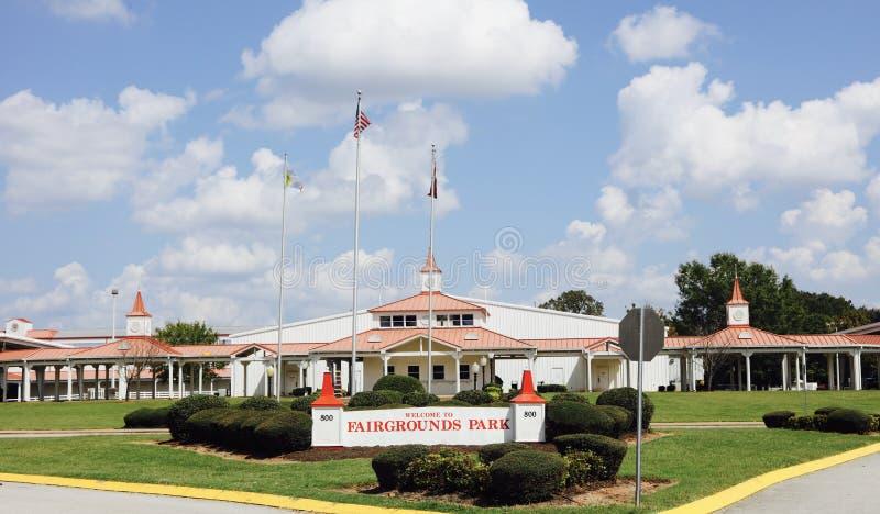Jackson, Tennessee Fairgrounds Park imagens de stock