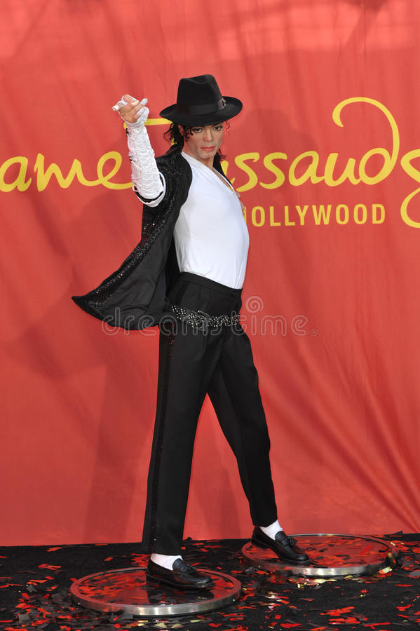 Jacksons, Michael Jackson royalty-vrije stock foto