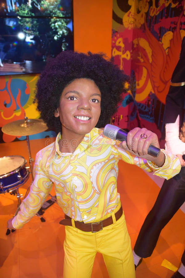 Jacksons Michael Jackson royalty-vrije stock afbeeldingen