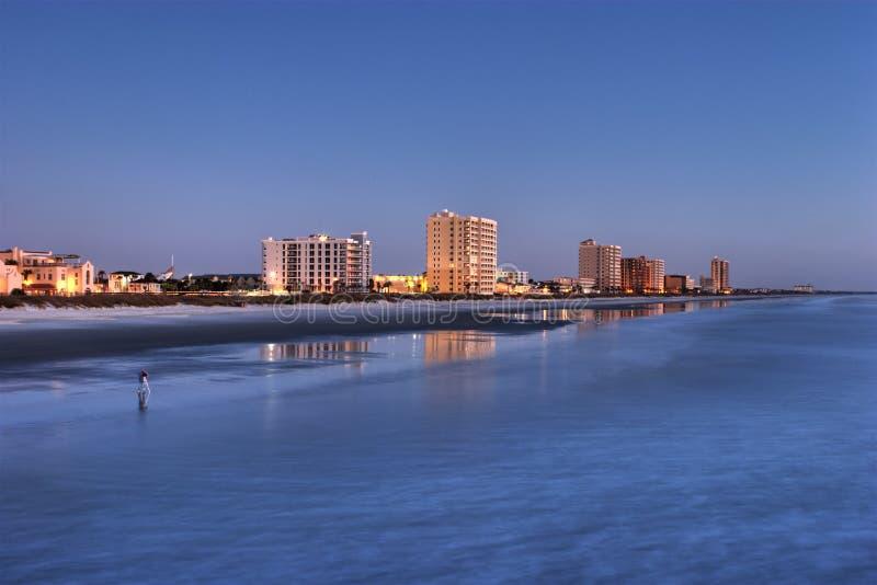 Jacksonville Beach royalty free stock photo