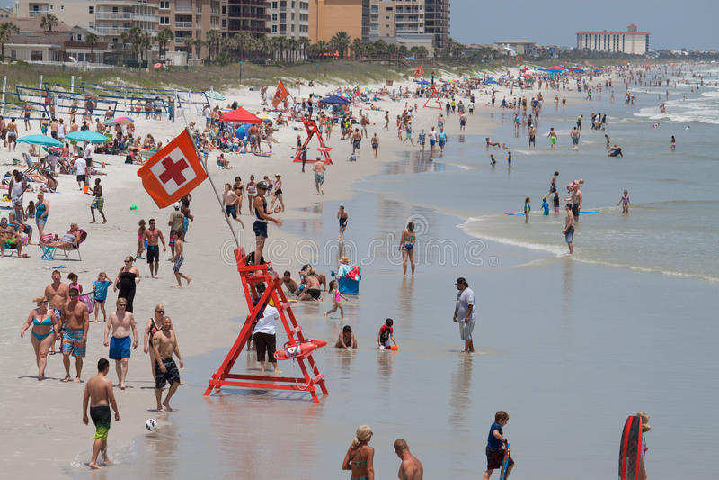 Jacksonville Beach stock photos