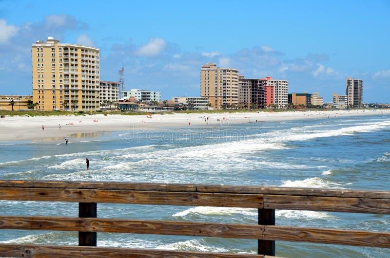 Jacksonville Beach Florida stock image