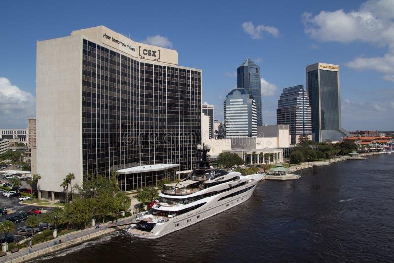 Jacksonville céntrica, la Florida foto de archivo