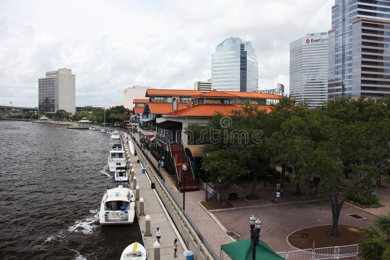 Jacksonville city royalty free stock photography