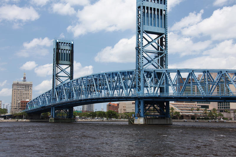 Jacksonville city royalty free stock image