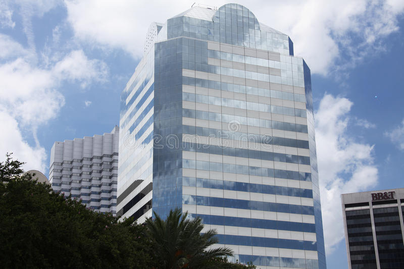 Jacksonville city. Downtown of Jacksonville city Florida royalty free stock photography