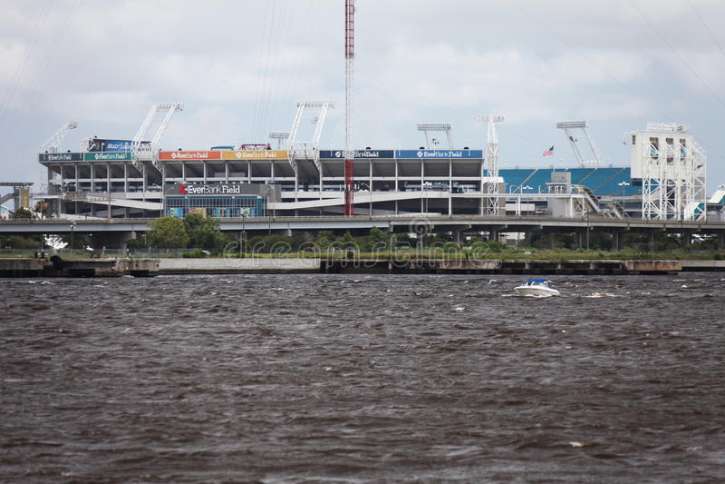 Jacksonville city. Downtown of Jacksonville city Florida stock photos
