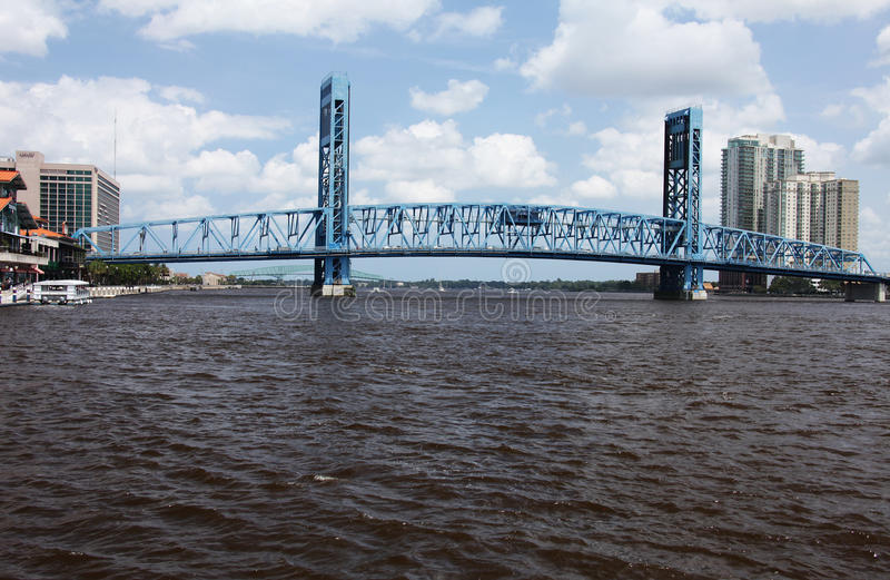 Jacksonville city. Downtown of Jacksonville city Florida royalty free stock images