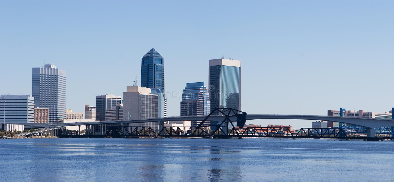 Jacksonville, Florida stock image