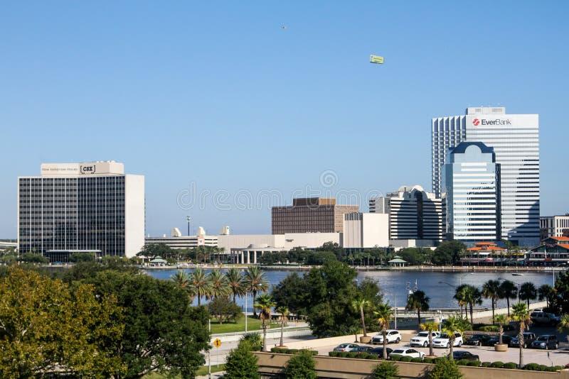 Jacksonville Florida stock image