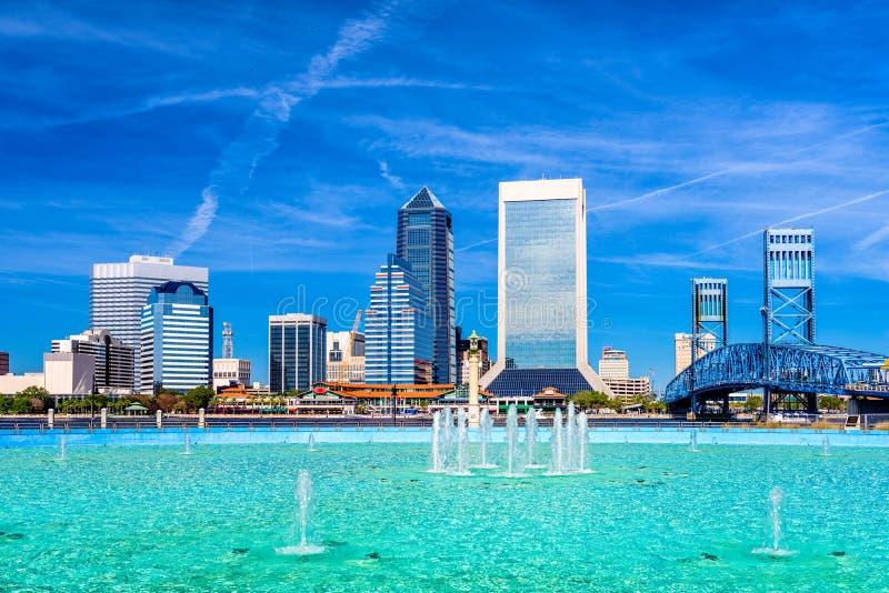 Jacksonville Florida, USA arkivfoto