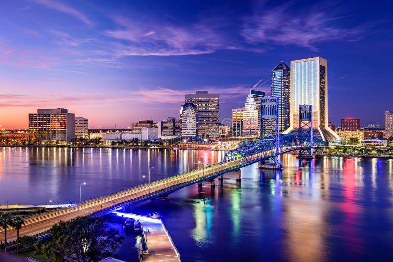 Jacksonville Florida, USA arkivfoton