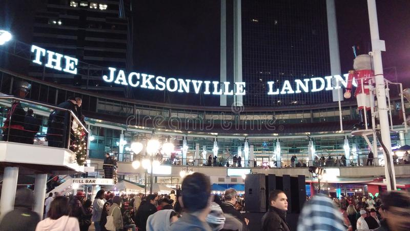 Jacksonville Landing royalty free stock images