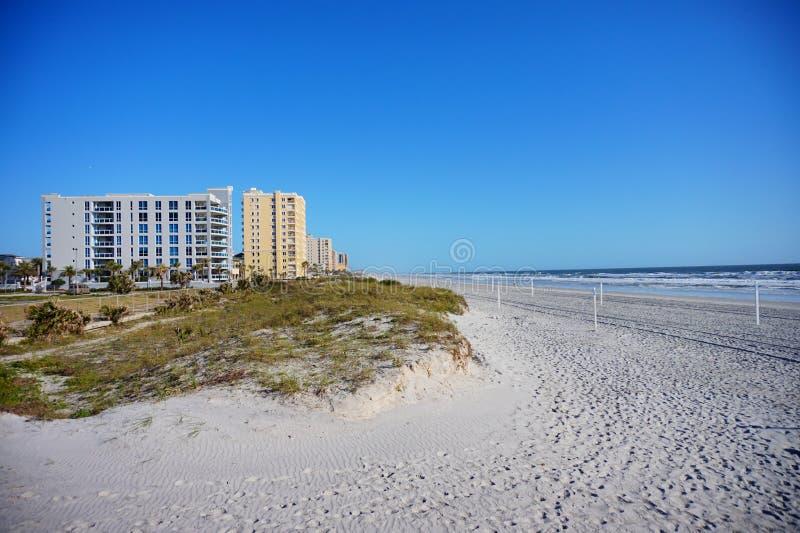 Jacksonville-Meerblickhotel stockfotografie