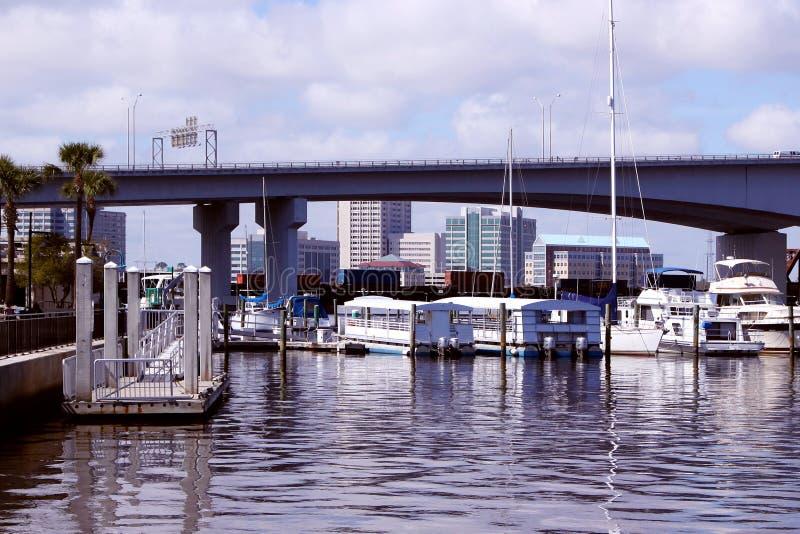 Jacksonville Port royalty free stock photo