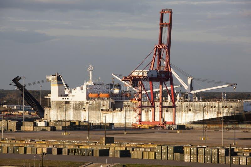 Jacksonville Port stock photos