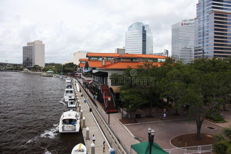 Jacksonville stad royaltyfri fotografi