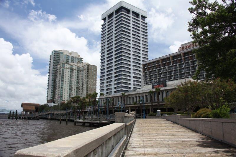 Jacksonville stad fotografering för bildbyråer